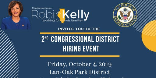 2ND CONGRESSIONAL DISTRICT HIRING EVENT