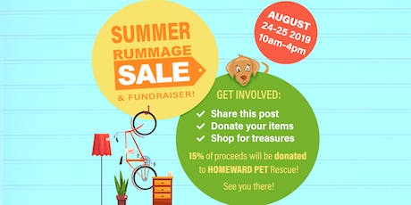 Rummage Sale & Charity Fundraiser tickets