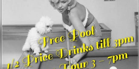 FREE Pool every Monday! tickets