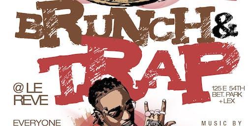 Brunch & Trap, 2hr Bottomless Brunch + Day Party + Hookah, Free w/ RSVP