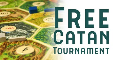 Settlers of Catan Tournament tickets