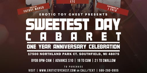 Erotic Toy Chest's Sweetest Day Cabaret & One Year Anniversary Celebration!