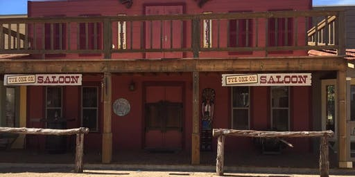MURDER AT THE LONG BRANCH SALOON, a murder mystery dinner theater