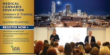 Breaking into Medical Marijuana Industry for Entrepreneurs and Employee Training -Oklahoma City tickets