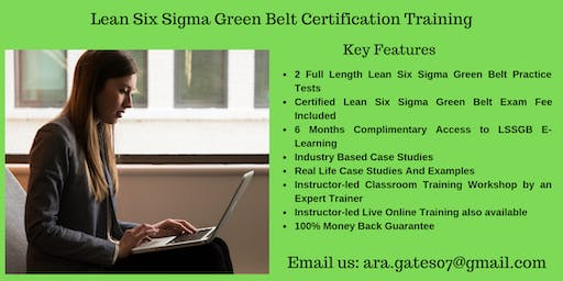 LSSGB Certification Course in Anderson, CA