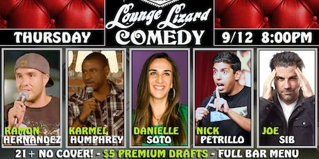 Comedy Night @ Rems Lounge tickets