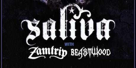 Saliva at The Hangar tickets