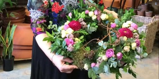 Christmas flower workshop