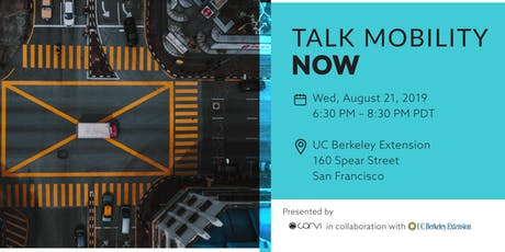 Talk Mobility Now - Networking & Panel tickets