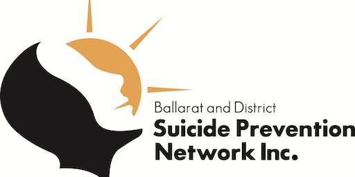 A suicide alert workshop - safeTALK - September 11 2019 - Ararat