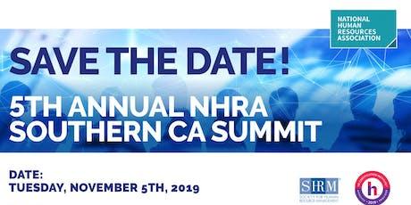 5th Annual NHRA So California Summit tickets