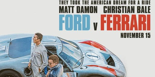 MTA Kaimai: Ford vs Ferrari Movie Night, Tauranga