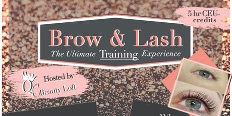 THE ULTIMATE - Brow and Lash Training tickets