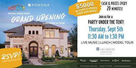 Pomona Grand Opening Luncheon & Tour tickets