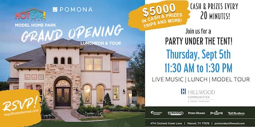 Pomona Grand Opening Luncheon & Tour