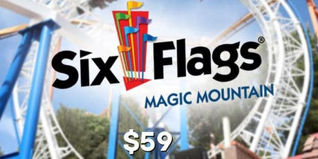 OB Student Ministries 6Flags Day tickets