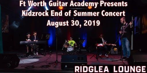 Kidzrock End of Summer Concert
