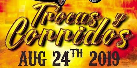 Trocas y Corridos tickets