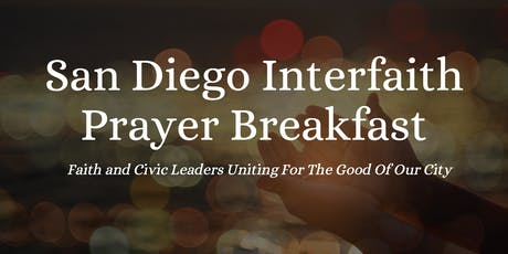 San Diego Interfaith Prayer Breakfast tickets