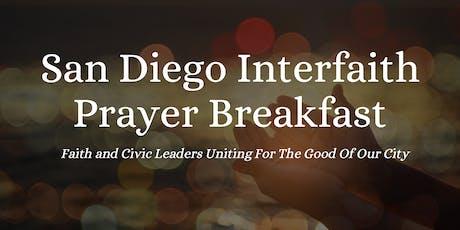 San Diego Interfaith Prayer Breakfast tickets