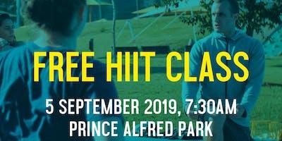 FIA Fitnation - Free HIIT Session Thursday 5 September, 2019