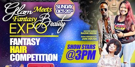 Glam meets Fantasy Beauty Expo tickets