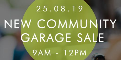 New Community Garage Sale