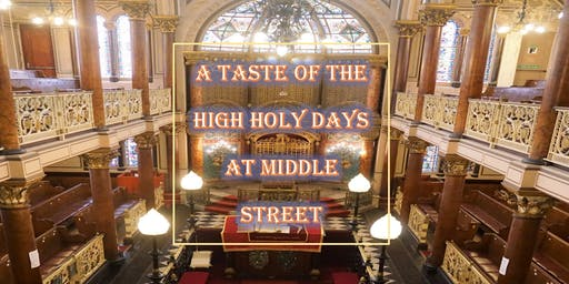 A Taste of the High Holy Days at Middle Street