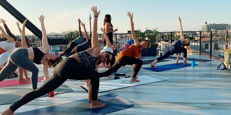 The Alter // Sunset Rooftop Yoga tickets