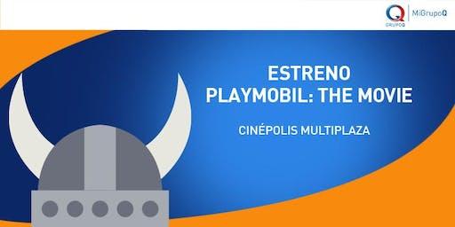 ¡Te invitamos a ver la película Playmobil!