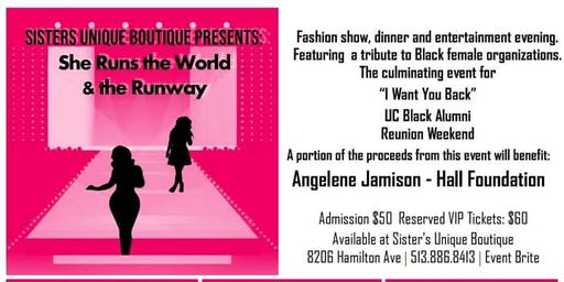 "Sister's Unique Boutique Presents ""  She Runs the World and The Runway"""