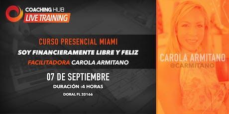 Taller Financiaramente Libre y Feliz by Carola Armitano & Coaching Hub entradas