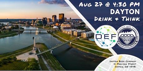 DEF Dayton Drink & Think tickets