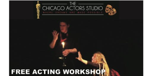 One-Day Introductory Acting Workshop (FREE After deposit refund)