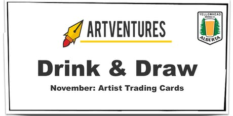 ArtVentures Drink & Draw: Artist Trading Cards tickets