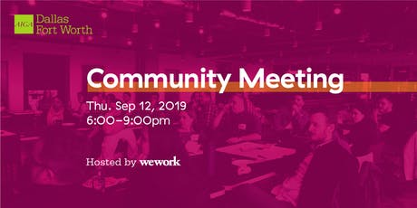 FALL COMMUNITY MEETING & SEASON KICKOFF PARTY! tickets