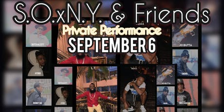 S.O.xN.Y. & Friends Private Performance tickets