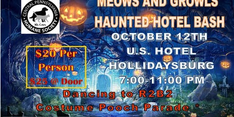 Meows & Growls Haunted Hotel Bash tickets