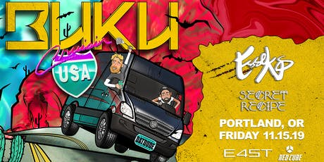 BUKU: CRUISIN' USA TOUR