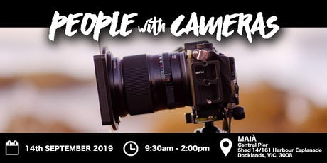 People with Cameras Creative Space Melbourne 2019 tickets