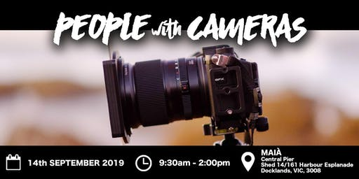People with Cameras Creative Space Melbourne 2019
