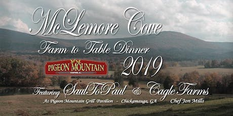 McLamore Cove Farm to Table Dinner tickets