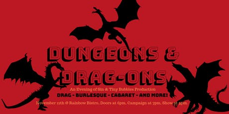Dungeons & Drag-ons - Evening of Sin tickets