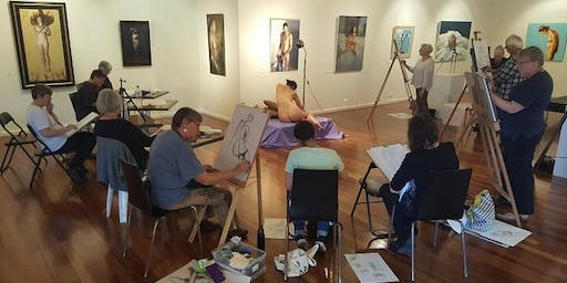 Special Tutored Life Drawing Session with James Pearson