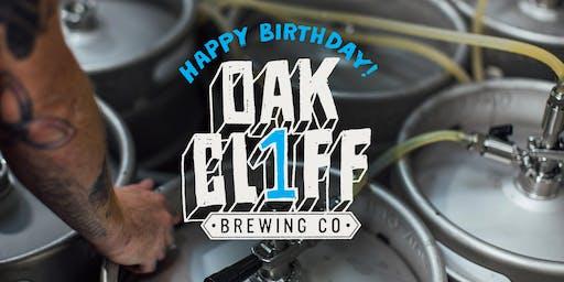 Oak Cliff Brewing Turns 1!