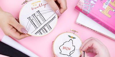 Make Cool Embroidery Wall Art