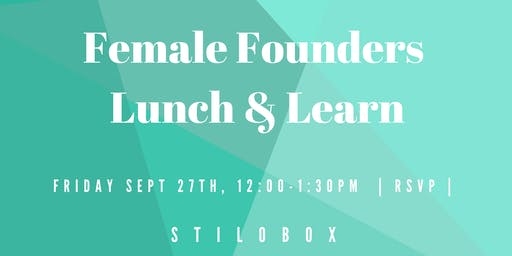 Female Founders Lunch - Ask Me Anything on Building a Brand