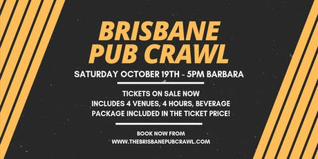 Brisbane Pub Crawl tickets