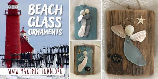 Beach Glass Ornaments - Trufant