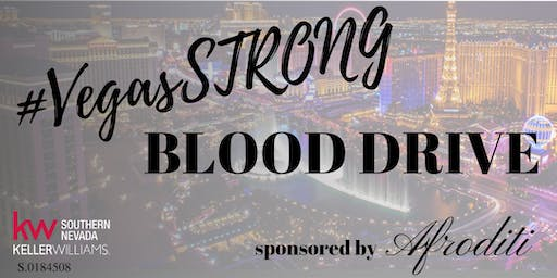 #Vegas Strong Blood Drive
